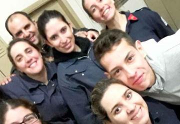 Ingresaron las primeras mujeres a Bomberos de Cañuelas