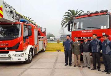 Bomberos de Copiapó recibió material mayor