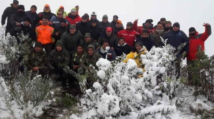 cuerpo de bomberos de Andalgalá
