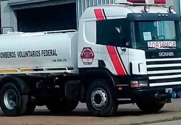 Nuevo equipamiento para Bomberos Voluntarios de Federal