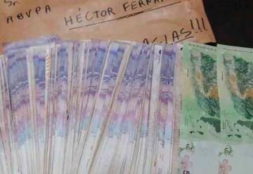Los Bomberos de Punta Alta recibieron un anónimo regalo