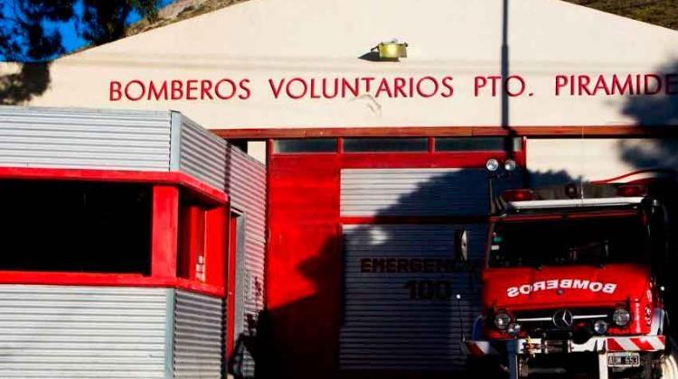 Bomberos Voluntarios de Pirámides enfrentan difícil situación económica.
