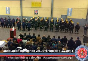 Acto por el día del Bombero Voluntario en Olavarría