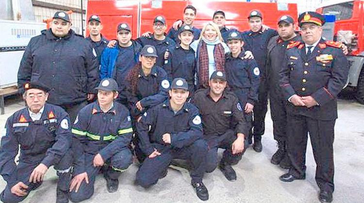 Presentaron el proyecto para la seguridad social a los bomberos
