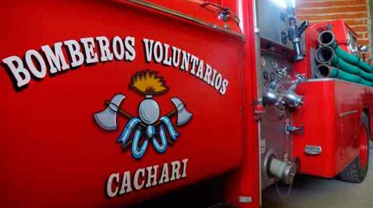 Bomberos de Cacharí formarán una Brigada K-9 para rescates