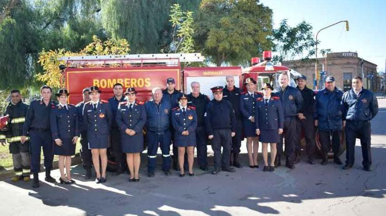 Bomberos Voluntarios de Macachín cumplió 30 años