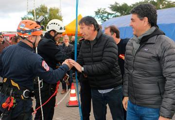 San Isidro y Vicente López celebraron el Día del Bombero