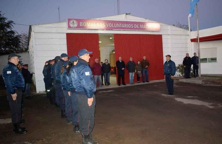 La Asociación Bomberos Voluntarios de Macachín cumplió 30 años