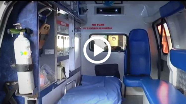Una nueva ambulancia fue entregada a los bomberos de La Ceja