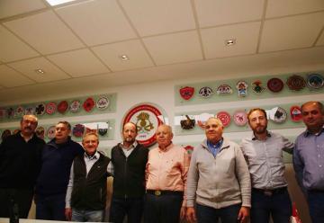 Reunión en la Federación Bonaerense de Bomberos Voluntarios