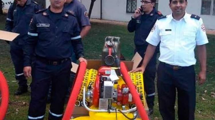 Nuevo equipo contra incendios forestales para bomberos de Garzón