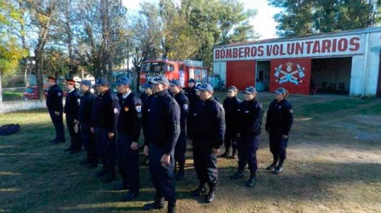 Bomberos voluntarios de San Javier cumple 34 años