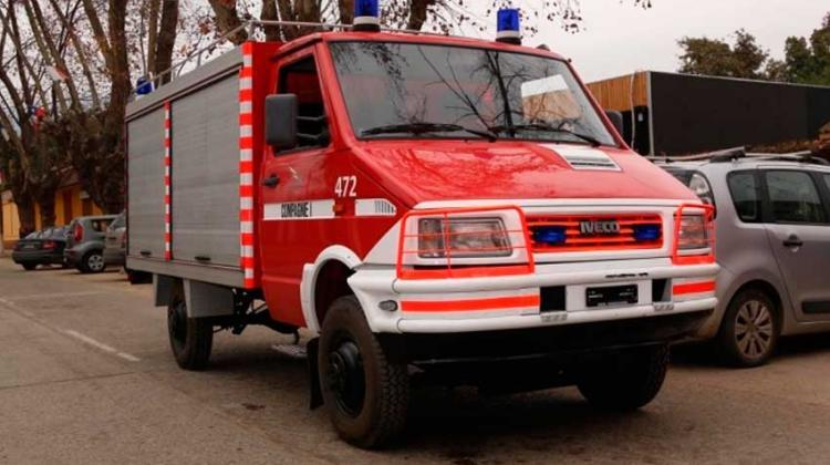 Cuerpo de Bomberos de Olmué recibe nuevo carro