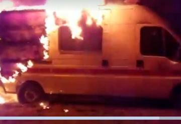 Incendian Unidad de Compañía de Bomberos de Río Dulce