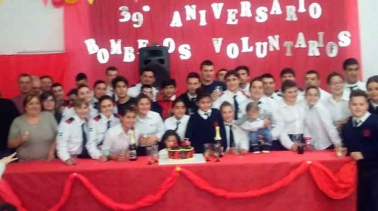 Bomberos Voluntarios de Elortondo cumple 39 años