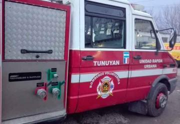Robaron por tercera vez a los Bomberos Voluntarios de Tunuyán
