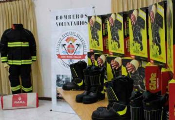 Bomberos Voluntarios de Laboulaye presentó nuevo equipamiento