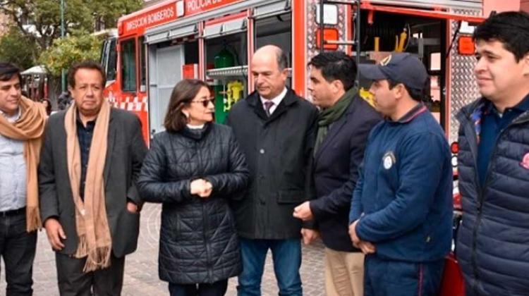Provincia destrabó fondos adeudados a Bomberos Voluntarios