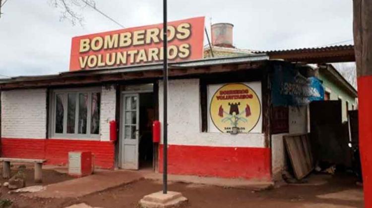San Carlos con irregularidades y sin Bomberos Voluntarios