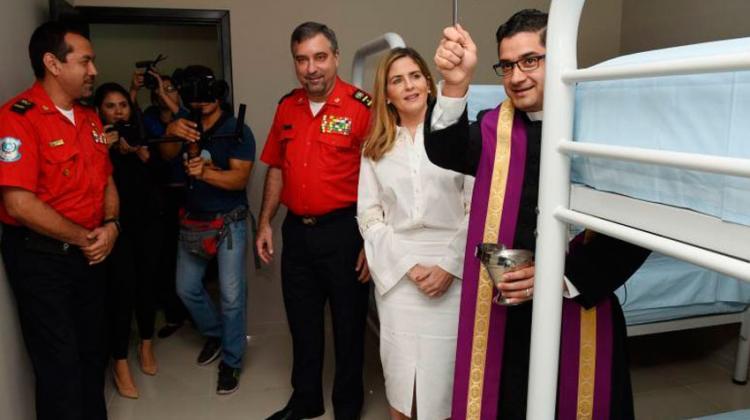 Inauguran nueva estación de bomberos en La Prosperina