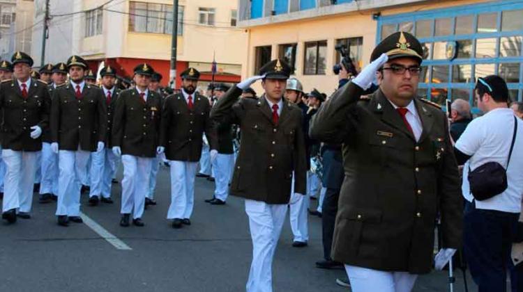 167 Aniversario del Cuerpo de Bomberos de Valparaíso