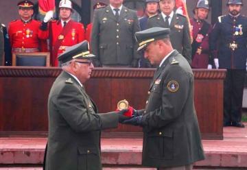 Cambio de mando en Bomberos de Chile