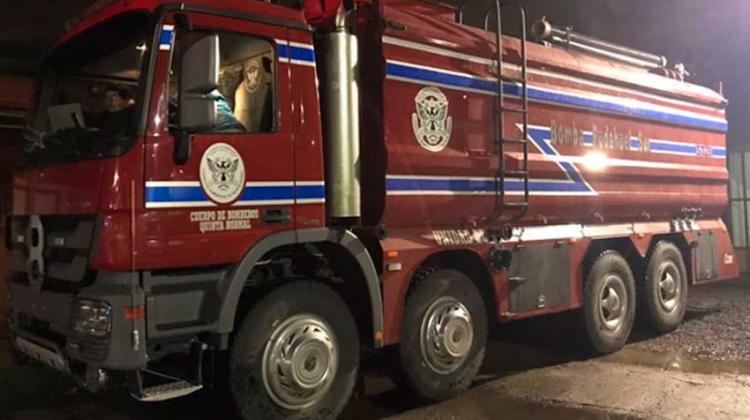 Bomberos de Pudahuel Sur recibieron nuevo vehículo