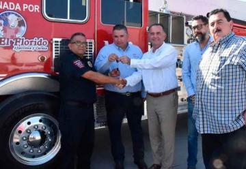 Empresas donan unidad nueva a Bomberos de Ensenada