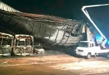 Bomberos de Gualeguaychú lograron sofocar el voraz incendio