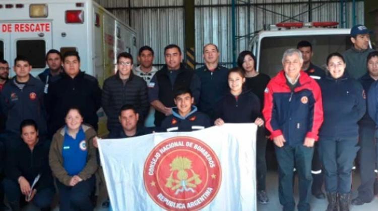 Bomberos Voluntarios se capacitaron en Formación Pedagógica