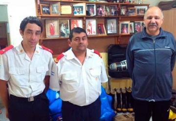 Bomberos Voluntarios de Suardi cumplió 25 años