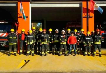 Taller para instructores infantiles en Bomberos de Huinca Renancó