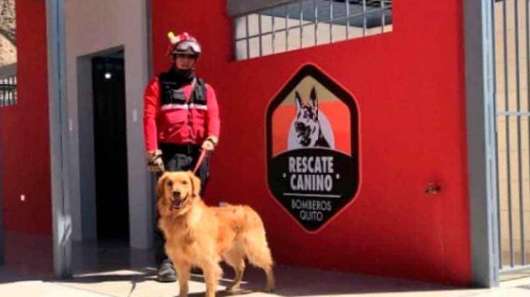 Nuevas instalaciones de la Unidad Canina de Bomberos de Quito