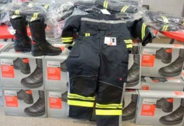 Nuevo equipamiento de protección para bomberos