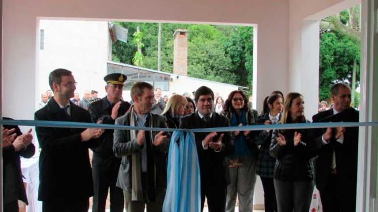 Riachuelo inauguró su primer Cuartel de Bomberos