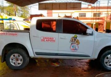 Donan camioneta a los Bomberos Voluntarios de Concepción