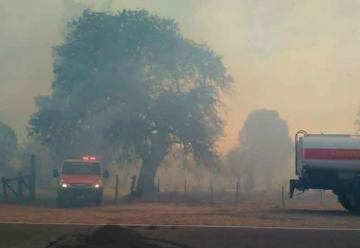 Domingo con incendios en distintos puntos de Córdoba