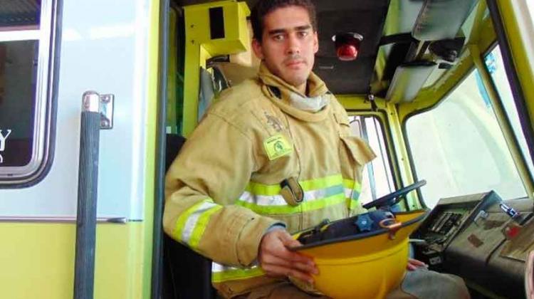 Desde chico quise ser bombero...