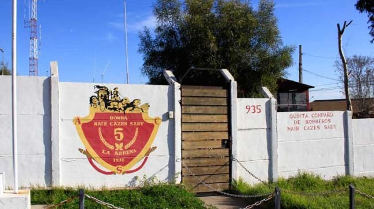 Intervienen compañía de Bomberos en La Serena por irregularidades