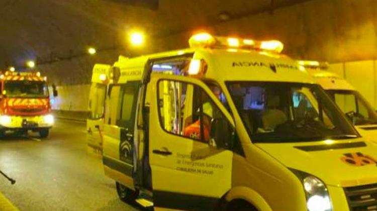 Ambulancias y Bomberos llevarán luces azules