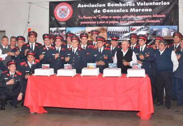 Bomberos Voluntarios de González Moreno celebran su 35º aniversario