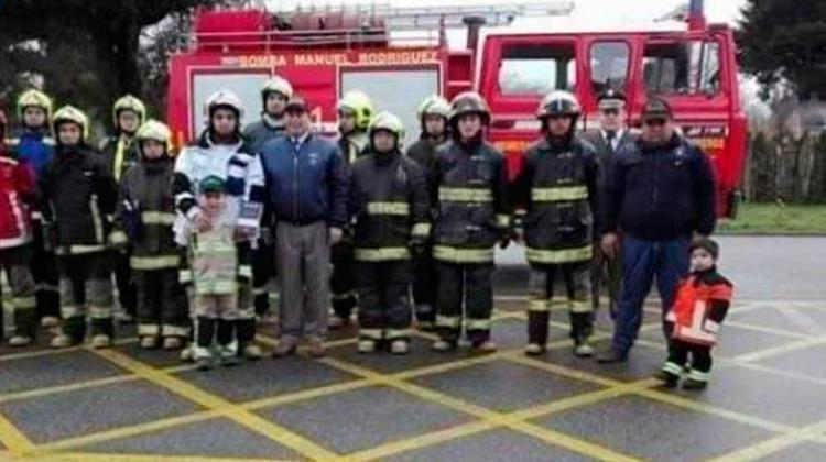 Aprueban seguro de vida para sus bomberos en Los Lagos