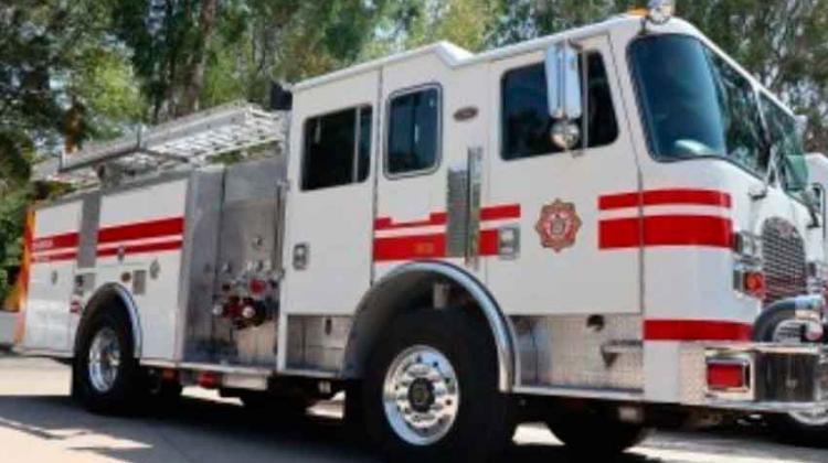 Donan cinco máquinas extintoras a Bomberos de Tijuana