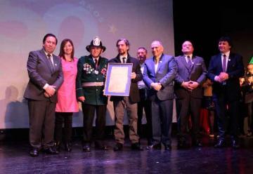 Voluntario Insigne recibe medalla de Hijo Ilustre de Ancud