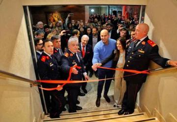 Bomberos de Quilmes inauguraron su salón de eventos