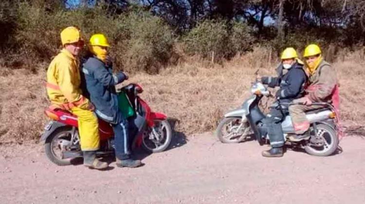 Bomberos de Gancedo solicitan donación de una autobomba
