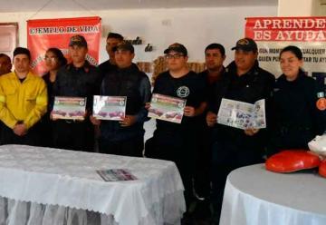 Bomberos lanzan campaña de benefactores