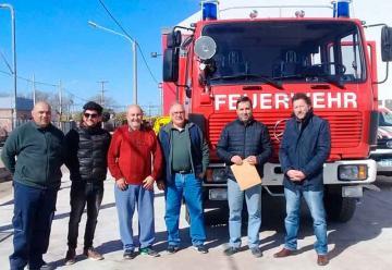 Bomberos Voluntarios de Almafuerte sumó una unidad
