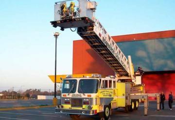 Bomberos tandilenses tendrán una escalera mecánica