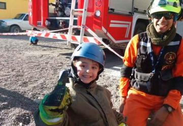 Programa educativo de Bomberos de Puerto Madryn